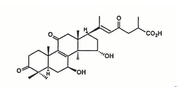 灵芝三萜化学结构